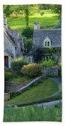 Bibury Cottages Bath Towel
