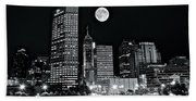 Big Moon Indianapolis 2019 Bath Towel