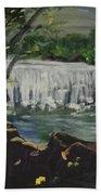 Big Waterfall Bath Towel