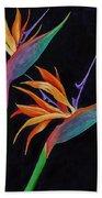 Bird Of Paradise 1 Hand Towel by Darice Machel McGuire