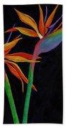 Bird Of Paradise 2 Hand Towel by Darice Machel McGuire