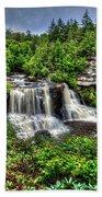 Blackwater Falls, Blackwater Falls State Park, West Virginia Bath Towel