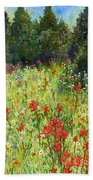 Blooming Field Bath Towel