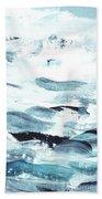 Blue #11 Bath Towel