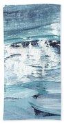 Blue #12 Bath Towel