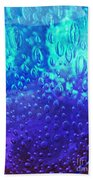 Blue Glass Bath Towel
