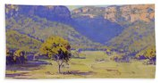 Bluffs Of The Capertee Valley Hand Towel
