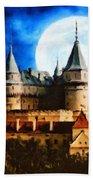 Bojnice Castle Hand Towel