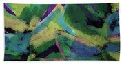 Bold Tropical Dreams- Art By Linda Woods Bath Towel