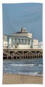 Bournemouth Pier 3 Bath Towel