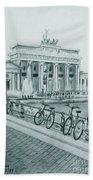 Brandenburg Gate - Berlin Bath Towel
