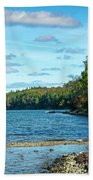 Bras D'or Lake, Cape Breton Nova Scotia, Canada Bath Towel
