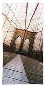 Brooklyn Bridge, New York City Bath Towel