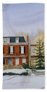 Broom Street Snow Hand Towel