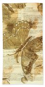 Butterfly Antiquities Hand Towel