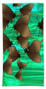 Butterfly Patterns 3 Hand Towel