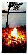 Campfire Bath Towel