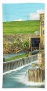 Canyon Lake Spillway Bath Towel