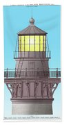 Cape Hatteras Lamp House Hand Towel