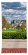 Capitol - Madison - Wisconsin From Bascom Hall Bath Towel