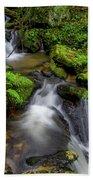 Cascades Of Lee Falls Bath Towel