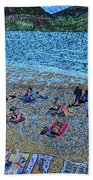 Cassis, France Bath Towel
