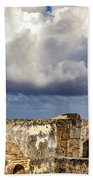 Castillo San Felipe Del Morro Lighthouse San Juan, Puerto Rico  Hand Towel
