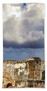 Castillo San Felipe Del Morro Lighthouse San Juan, Puerto Rico  Bath Towel