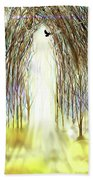 Cathedral Forest Bath Towel by Darren Cannell