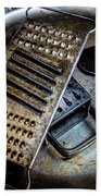 Cheese Grater 33 Bath Towel