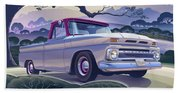 Chevy Truck Centennial 1964 Shortbed Custom Half Ton Bath Towel