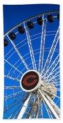 Chicago Centennial Ferris Wheel Bath Towel