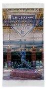 Chickasaw Ballpark - Bricktown - O K C Bath Towel