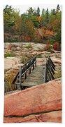 Chikanishing Trail Boardwalk II Bath Towel