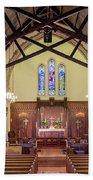 Christ Episcopal Interior Bath Towel
