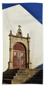 Church Of Misericordia. Portugal Bath Towel