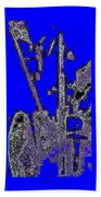 Abstract/city Lights Hand Towel