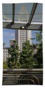 Civic Center Metro Station Los Angeles Bath Towel
