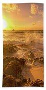 Coastal Sunrise Spectacular  Bath Towel