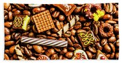 Coffee Candy Bath Towel