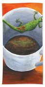 Coffee With A Friend Hand Towel by Darice Machel McGuire