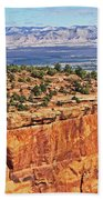 Colorado National Monument Trees Rock Formations 3087 Hand Towel