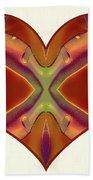 Colorful Heart - Naked Truth - Omaste Witkowski Bath Towel by Omaste Witkowski