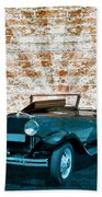 Convertible Vintage Car Hand Towel