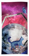 Cosmic Portal Bath Towel by Bee-Bee Deigner
