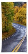 Country Travels Hand Towel by John De Bord