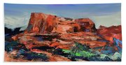 Courthouse Butte Rock - Sedona Hand Towel