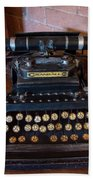 Crandall No3 Typewriter Hand Towel