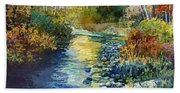 Creekside Tranquility Bath Towel