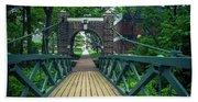 Crossing The Kissing Bridge Hand Towel